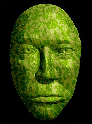 Green Wallpaper Mask