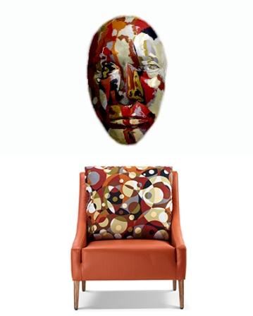 Multicolored Chair