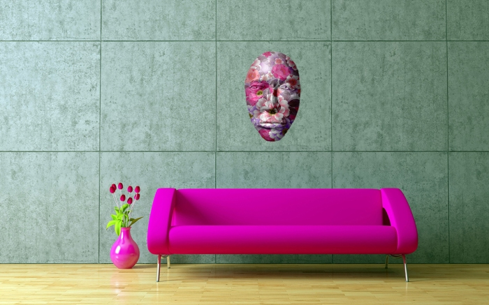 Purple Couch Mask
